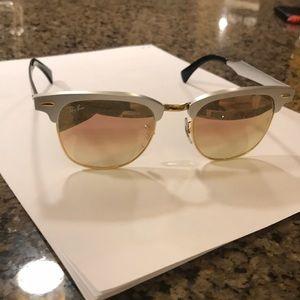 Ray ban clubmaster sunglasses // not polarized